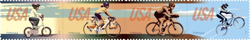 US-Postal-Service-bicycle-stamps